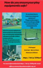 Play Area Equipment Inspection Training